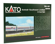 KATO 106081 N Amtrak SW LTD Phase1 1ST Class 8-CarSet w/Display Unitrak 106-081