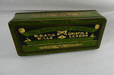 W.D & H.O wills Three Castles Cigarette 100 tin 17cm x7cm