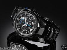 EFR-540BK-1A Black Casio Edifice Men's Watch 100m Stainless Steel Band
