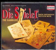 SHOSTAKOVICH - The Gamblers - Krzysztof MEYER - Capriccio 2CDs
