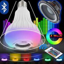 RGB Smart LED Light Bulb Speaker Bluetooth Color Changing Light Remote Control