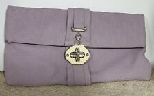 Lilac Dorothy Perkins clutch bag Free P&P