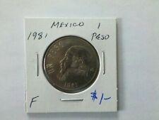 Mexico 1981 1 Peso