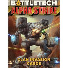 Catalyst - Battletech - Alpha Strike - Clan Invasion Cards -=NEW=-