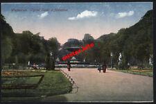 Warszawa-Warschau-Ogrod saski z fontanna-Pionier-1916-Polen-1.wk-Feldpost