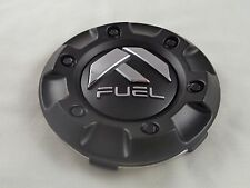 Fuel Wheels Flat Black Custom Wheel Center Caps ONE 1 # CAP M-447 / 1001-58