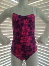 """Hot Pink"" Girls Chlorine Resistant Swimwear AU Size 10 & 12 Available-FREE POST"