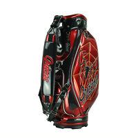 Brand New Guiote Spider Golf  staff bag 2015 Web model caddie cart bag Rainhood