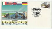 1989 FIRST DAY COVER ISSUE FDC 'ADELAIDE AUSTRALIAN GRAND PRIX PRACTICE DAY ONE'