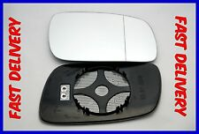 VW PHAETON 2002-2007  WING MIRROR GLASS WIDE ANGLE  HEATED RIGHT