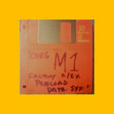 Korg M1 PRELOAD FLOPPY disc Performance Data korg
