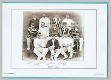 CRICKET  -  UNMOUNTED CRICKET TEAM PRINT - SURREY - 1894
