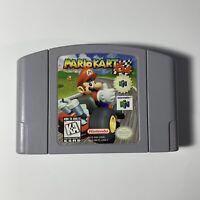 Mario Kart 64 N64 - Nintendo 64 Authentic Original OEM Cleaned Tested & Working