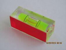 S40 LEVEL VIAL - 4cm X 15mm x 15mm - SELF ADHESIVE - 1 BUBBLE - HARD PLASTIC