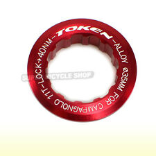 TOKEN Lock Ring For Campagnolo 11T Cassette , Red