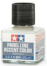 TAMIYA 87133 Panel Line Accent Color Gray For Plastic Model Kit