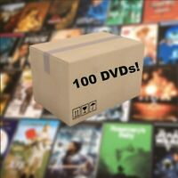 Random Lot of 100 Used Assorted DVD Movies TV Show Bulk DVDs Wholesale A-List