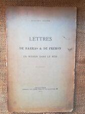 4246- REVOLUTION Lettres de Barras & de Fréron, en mission dans le Midi, Poupé.