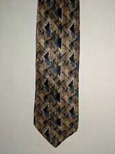 Vintage Bruno Piattelli Tie 100% Silk