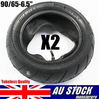 2x  90/65-6.5 Tyre + Inner Tubes 6.5 Inch Mini Pocket Rocket PIT Bike 2-Stroke