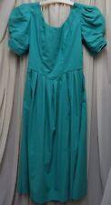 """Superbe vintage LAURA ASHLEY rosebud et queue de poisson détail robe taille 12 (34"""")"""