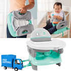 Baby Portable Booster Seat Folding Table Feeding High Chair Compact Toddler Tray