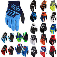 Men MTB Fox Cycling Bicycle Bike Motorcycle Motocross Offroad Full Finger Gloves