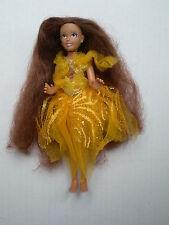 "DISNEY Fairies Iridessa Tinkerbell Fata amica NERO AA 7 ""Doll abito originale"