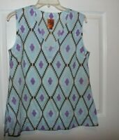 Tory Burch Lightweight Cotton Tunic Top Womens Size 6