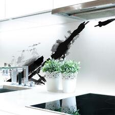 Küchenrückwand Tinte Abstrakt Premium Hart-PVC 0,4 mm selbstklebend