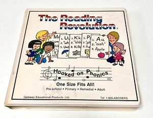 HOOKED ON PHONICS Learn To Read The Reading Revolution PRESCHOOL Cassette Tapes