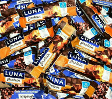 118 ASSORTED LUNA PROTEIN  NUTRITION  HIGH PROTEIN BARS NO RESERVE