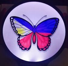 Philippine Butterfly Light Up Decal Powerdecal Backlit LED Motion Sensing Decal