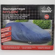 PKW Ganzgarage Nylon Van blau 195x142x515cm reißfest atmungsaktiv Autoschutz