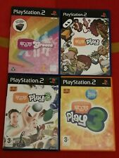 EyeToy Groove + Play + 2 + 3 ps2 Sony Playstation PAL getestet Gratis P + P