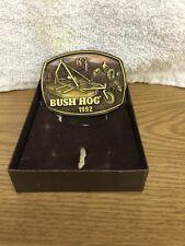 Bush Hog Farm Equipment Limited Edition 1992 Belt Buckle.