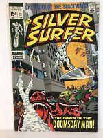 Silver Surfer #13 Marvel 1969 VF 8.0 1st Appearance Origin of Doomsday Man