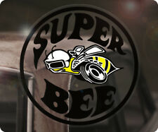 SUPER BEE DODGE CHARGER Adesivi Sticker autocollante Muscle Car USA a sinistra
