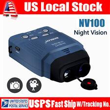 IR Night Vision Monocular Binoculars for Wildlife Scouting guarding + 4GB Card