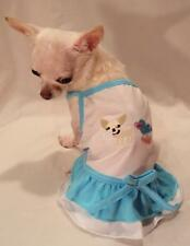 Chihuahua Princess Ruffle Dog Dress/Dog Clothes/Dog T-shirt/Chihuahua xs,s,m,l