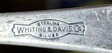 Herbert Hoover Whiting Davis Sterling Silver Souvenir Spoon
