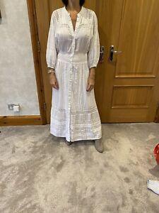 Cleobella White Maxi Dress/M