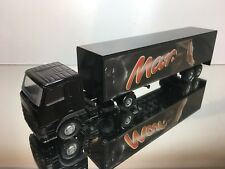 LION CAR VOLVO FH12 460 TRUCK + TRAILER - MARS - BLACK 1:50 - EXCELLENT