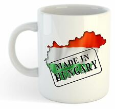 Made In Hungary - Flag / Map / Country Mug