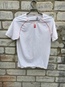 specialized cycling shirt JERSEY SIZE L Excellent, White Bike