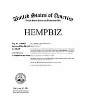 HempBiz® > price reduced to SELL
