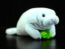 Manatee Stuffed Animal Trichechu Sea Animal Cartoon Plush Toy Gift For Kid 18cm