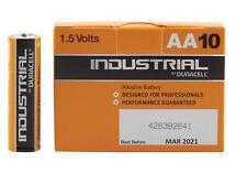 Duracell 656.975 Choice for Professionals Industrial Range 10 Batteries - Multi