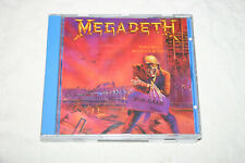 "Megadeth - ""Peace Sells... but who's Buying"" CD NO IFPI"