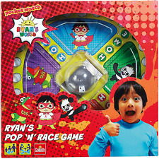 Goliath Games Ryan's World Pop n Race, Classic Fast Action Game for Kids Aged 5+